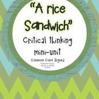 """This is a two or three day mini unit on Sandra Cisneros' """"A Rice Sandwich"""" (an excerpt from The House on Mango Street.   I've included a few graphi..."""
