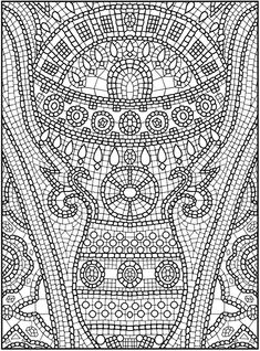 Mosaic design 3 from Dover Publications http://www.doverpublications.com/zb/samples/497488/sample3c.htm