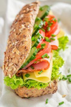 健康的な食事 健康的な食事 in 2020 Healthy Dinner Recipes, Healthy Snacks, Healthy Eating, Cooking Recipes, Healthy Sandwiches, Healthy Sandwich Recipes, Sandwich Ideas, Cafe Food, Aesthetic Food