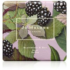 Jo Malone London Blackberry & Bay Soap — 3.5 Oz. ($20) ❤ liked on Polyvore featuring beauty products, bath & body products, body cleansers, beauty, bath & body, black, soaps & cleansers and jo malone