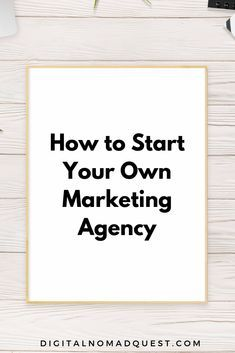 How Arianna O'Dell Started Her Own Marketing Agency – Digital Nomad Quest – Business marketing design Marketing Logo, Digital Marketing Strategy, Social Media Marketing Agency, Marketing Plan, Business Marketing, Content Marketing, Marketing Consultant, Pinterest Marketing, Instagram