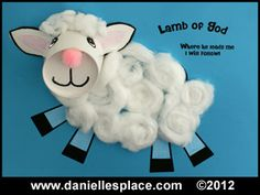 Lamb of God Cup Craft www.daniellesplace.com