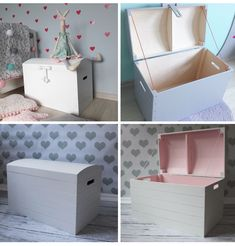 Perfect storage option, hide away messy toys