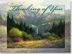 Thinking of You Card - Thinking of You | Charles H. Pabst | 41288 | Leanin' Tree
