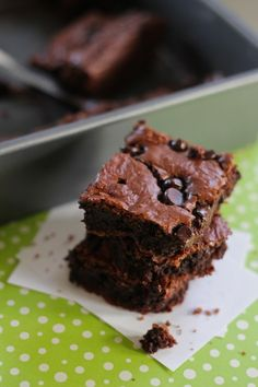soft, chewy & moist brownies