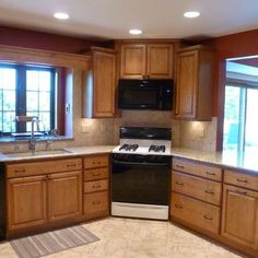 1000 Ideas About Corner Stove On Pinterest Stoves Cherry Cabinets And Under Cabinet Lighting