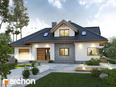 Modern family home scores with classic elegance - Baustil
