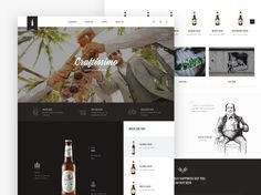 """Craftissimo website concept.  Hope you like it so press """"L"""" on your keyboard ;)  Thanks all."""