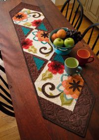 Martingale - Skinny Quilts and Table Runners II (Print version + eBook bundle) - Love this runner!