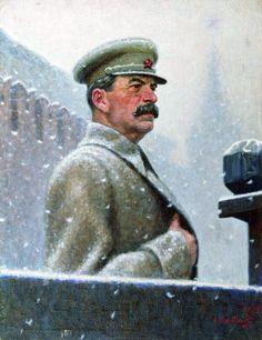 ARTIST original ART-- Joseph Stalin after Aleksandr Ivanovich Laktionov portrait oil painting # handpainted painting Ww2 Propaganda Posters, Communist Propaganda, Joseph Stalin, Military Drawings, Socialist Realism, Soviet Art, Red Army, Russian Art, Historical Pictures