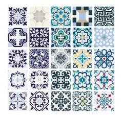 Floor Patterns, Tile Patterns, Vintage Tile, Vintage Floral, Traditional Tile, Oriental Pattern, Vector Pattern, Tile Design, Abstract Backgrounds