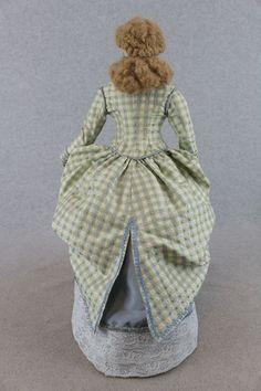 "18"" Artist Antique Reproduction French Fashion Lady F G Boudoir Poupee Doll | eBay"