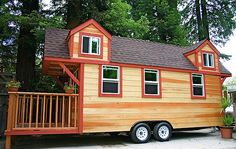 Are you pulling your hair out due to thinking of new ideas for your tiny house? We will reveal 80 best tiny house design ideas that you can ever imagine! Best Tiny House, Micro House, Tiny House Plans, Tiny House On Wheels, Tiny House Movement, Tiny Spaces, Loft Spaces, Tiny Houses For Sale, Little Houses