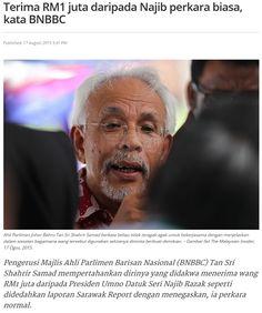 Terima RM1 Juta Dari Najib Satu Perkara Biasa - Siapa Lagi Yang Pernah Terima Duit Dari Najib Sila Tampil ! | dinturtle - Blogger PARTI MELAYU
