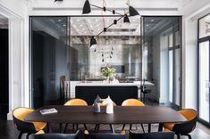Интерьер в духе парижских апартаментов в Киеве | Пуфик - блог о дизайне интерьера