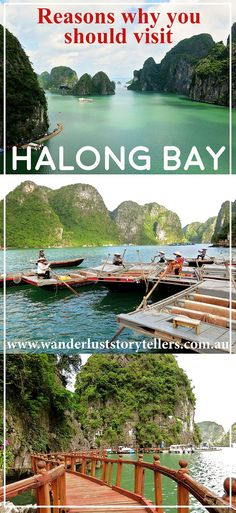The best way to experience Halong bay and Bai Tu Long Bay.  Your experience here depends largely on choosing the right cruise!!  Read more on our blog http://wanderluststorytellers.com.au