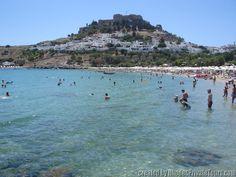 Lindos Beach - Rhodes Island Greece