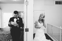 Exchange of Letters | Before the wedding | Amanda Lassiter Photography | Dominion House