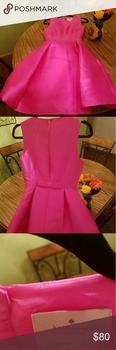 KATE SPADE Cocktail Dress 2 This listing is for a Beautiful Kate Spade cocktail dress in a bright pink. Dress is like new and was worn only once to an event. This dress comes from a pet free and smoke-free home. kate spade Dresses Mini