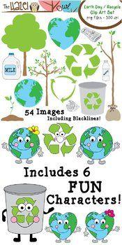 Earth Day Clip Art!  $