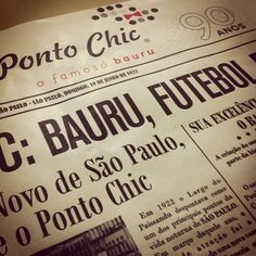 """Ponto Chic, do famoso sanduíche """"bauru"""". Largo Paissandú, centro de SP."""