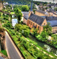Over Luxemburg City
