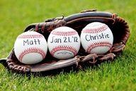 wedding save the date baseball ideas - Google Search