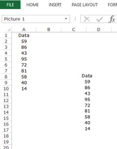 Excel Camera Tool - Example