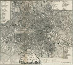 Paris 1800 http://www.oldmapsofparis.com/map/1800