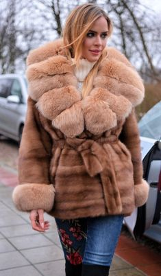NEW SAGA MINK FUR LONG JACKET GOLD FOX CLASS- RUSSIAN SABLE CHINCHILLA COAT VEST | Clothing, Shoes & Accessories, Women's Clothing, Coats & Jackets | eBay!