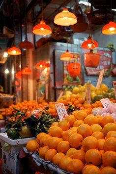 Market, Sheung Wan, Hong Kong
