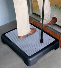 Pharmedics Anti Slip Outdoor Half Step Elderly Disability Door Walking Aid 10cm