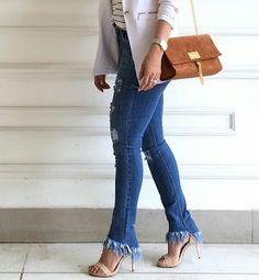 Closet Lit: Jeans Skinny Destroyed