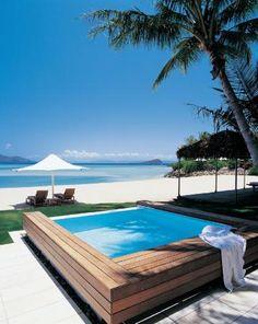 Hayman Great Barrier Reef: Beach House Plunge Pool
