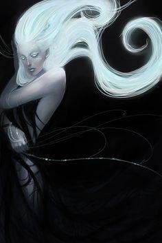 images for anime art Dark Fantasy Art, Fantasy Girl, Dark Art, Dnd Characters, Fantasy Characters, Female Characters, Disney Characters, Fictional Characters, Art And Illustration