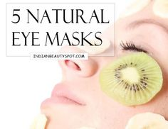 Eye masks for dark circles and puffy eyes. : ♥ Indian Beauty Spot ♥
