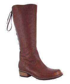 Café Pardo Leather Boot