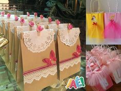 Inspire sua Festa ®   Blog sobre festas e maternidade 65th Birthday, Alice In Wonderland, Paper Shopping Bag, Favors, Wraps, Gift Wrapping, Place Card Holders, Tableware, Diy