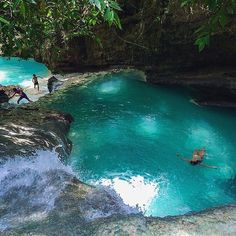 Emerald Pool in Cebu, Philippines #EarthPix Photography by @vitoselma #Padgram