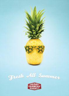 CALGARY FARMERS' MARKET: FRESH ALL SUMMER ADS | Creative Pile