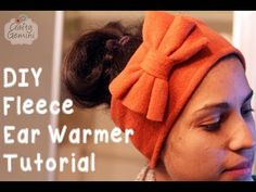 In this video I teach you how to make fleece ear warmers with a bow embellisment. This is a very easy project to make and would be a great beginner project. Its also inexpensive to make and would be great for using Fleece Crafts, Fleece Projects, Diy Sewing Projects, Sewing Hacks, Sewing Tutorials, Sewing Ideas, Sewing Tips, Fabric Crafts, Sewing Patterns