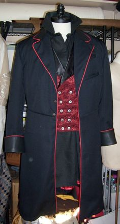 Airship Captains Frock Coat