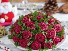 Обалденный Салат «Букет роз» или «Сельдь под шубой»