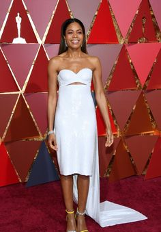 HOLLYWOOD, CA - FEBRUARY 26: Actor Naomie Harris attends the 89th Annual Academy Awards at Hollywood & Highland Center on February 26, 2017 in Hollywood, California.  (Photo by Kevork Djansezian/Getty Images) (Foto: Getty Images)
