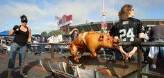Fans in der NFL: Grillschwein und Schießereien - SPIEGEL ONLINE - Nachrichten - Sport