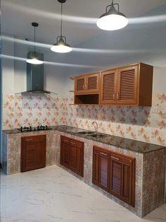 Kitchen Cupboard Designs, Kitchen Room Design, Outdoor Kitchen Design, Home Room Design, Small House Design, Kitchen Sets, Home Decor Kitchen, Kitchen Furniture, Kitchen Interior