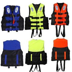 Specifications: Product Name: Life Jacket Surface Material: 240 D Polyester Oxford Cloth Buoyancy Material: EPE Color: Orange, Blue, Yellow Buoyancy: >7.5Kg Applications: Boating, Surfing, Sailing, Windsurfing, Fishing Ski, etc. Size: S/M/L/XL/XXL/XXXL