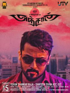 Suriya's Anjaan Movie first look posters of was revealed May 1, who is The actor Ajith Birthday. Anjan Movie Produced by UTV Motion Pictures and Lingusamy's Thirupathi Brothers