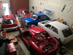 Mazda workshop Old Skool, Mazda, Classic Cars, Workshop, Atelier, Vintage Classic Cars, Classic Trucks