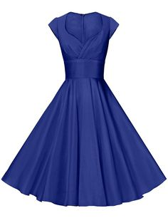 GownTown Womens Dresses Party Dresses 1950s Vintage Dresses Swing Stretchy Dresses * Don't get left behind, see this great  product : cocktail dresses